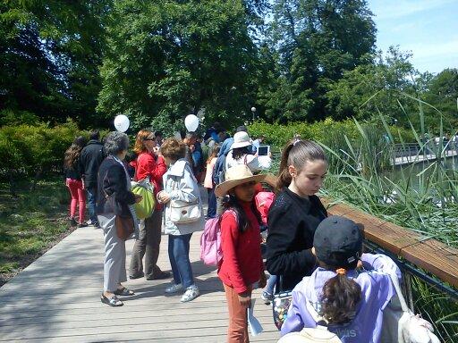 Visite du parc de la Tête d'Or à Lyon (mai 2015)