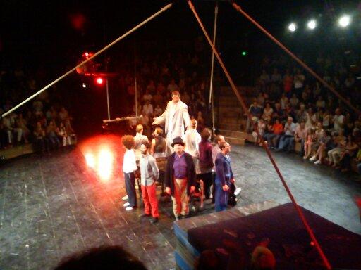 Sortie cirque à Chalon (mai 2016)
