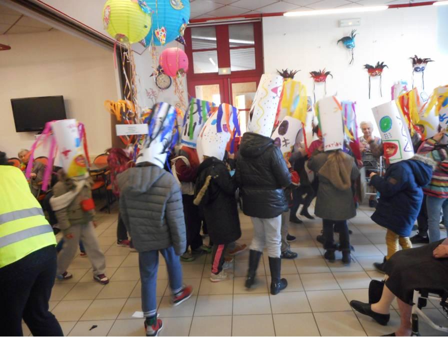 Carnaval 2017 (passage à l'ehpad)