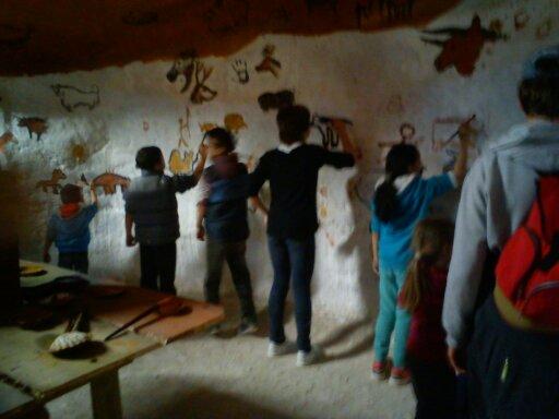 Peintures rupestres au Dino Zoo (mai 2016)