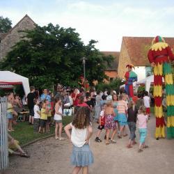 Repas de village (Thématique médiévale)
