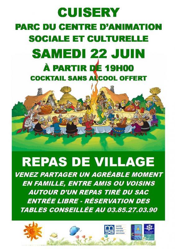 Repas village 1